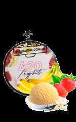 Табак 420 Light Бананово-клубничное мороженое (100 г)